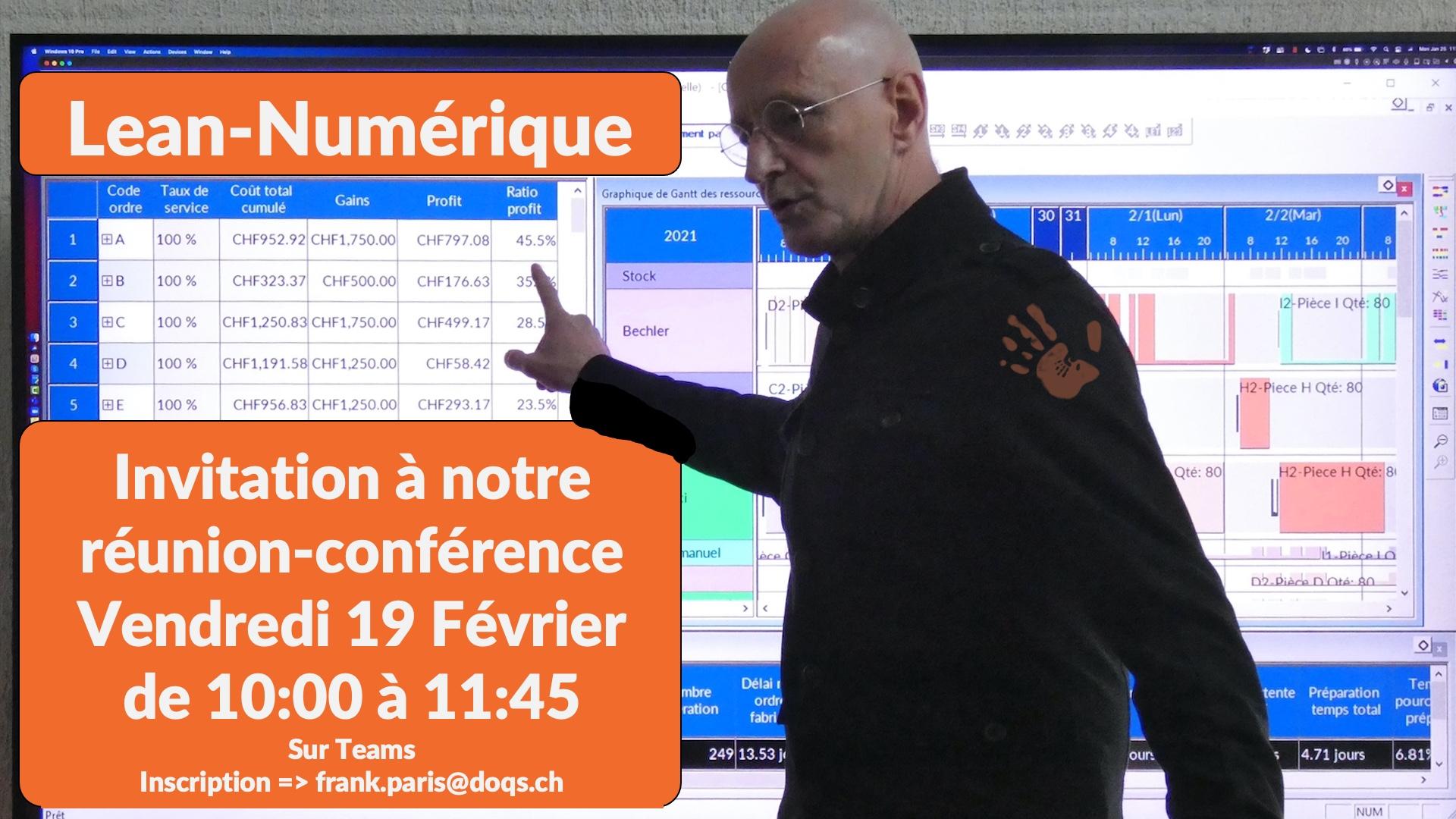 Invitation Réunion-Conférence le 19 Février
