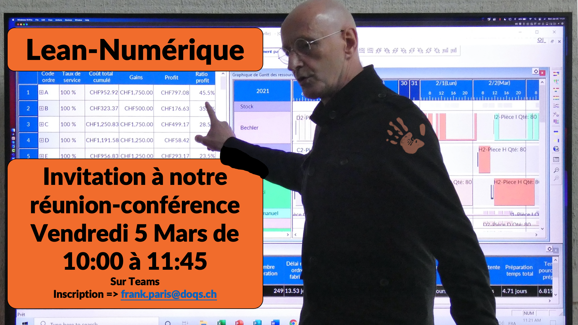 Invitation Réunion-Conférence le 5 Mars