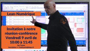 Invitation Réunion-Conférence le 9 avril
